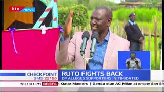 DP Ruto : If they\'re Men enough let them come forward and face me, let them not hide behind shadows