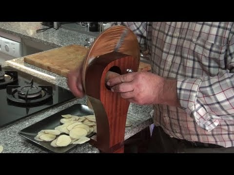 Potato Chips slicer - woodmade - kitchen gadgets