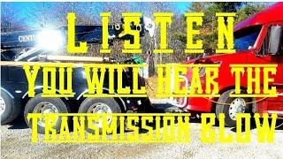 Listen to my Transmission Blow in my Volvo 780