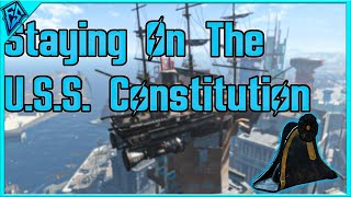 Fallout 4 | Staying on the U.S.S. Constitution As it Crashes | What Happens?