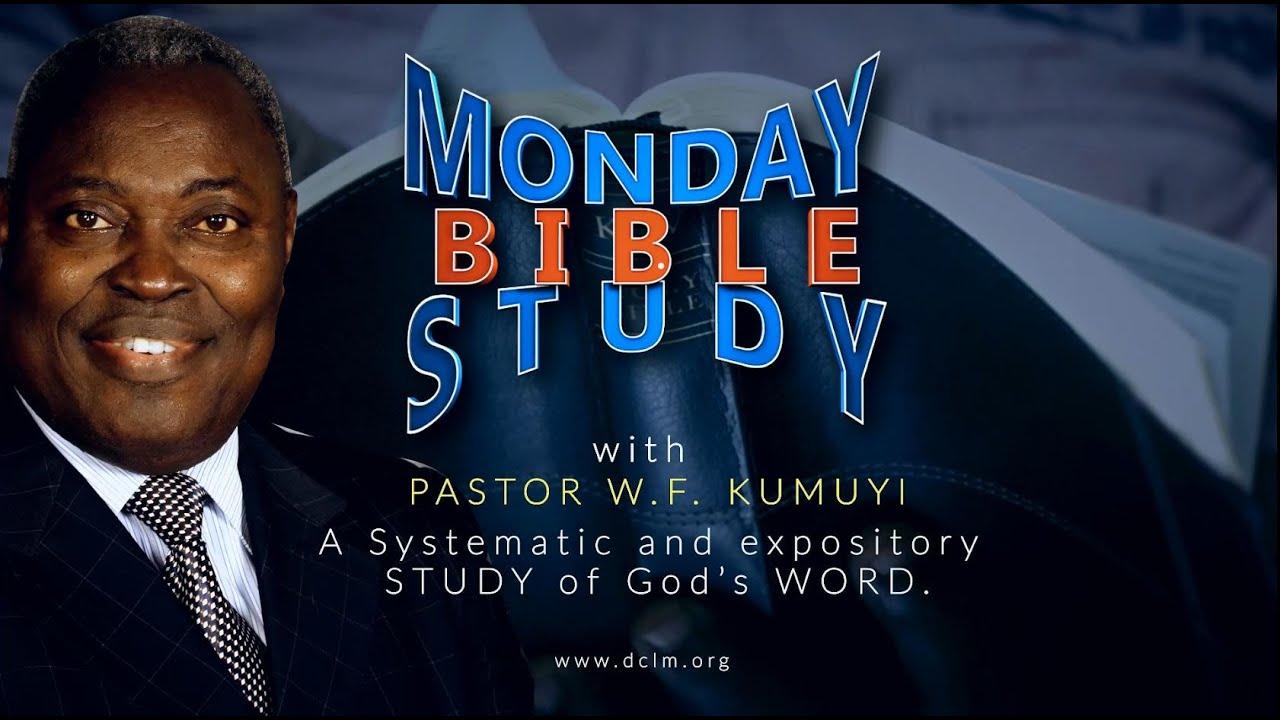 Deeper Christian Life Bible Study 29th March 2021 Livestream