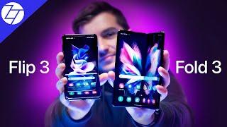 Samsung Galaxy Z Fold3 5G & Samsung Galaxy Z Flip3 5G - Everything New!