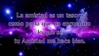Tu amistad me hace bien - Alex Campos Letra Voz