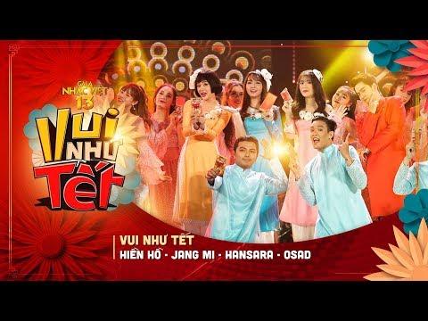 Hiền Hồ, Jang Mi, Han Sara lần đầu kết hợp trong ca khúc Vui như Tết tại Gala nhạc Việt 2019