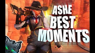 🔥OVERWATCH HIGHLIGHTS🔥ASHE BEST MOMENTS🔥