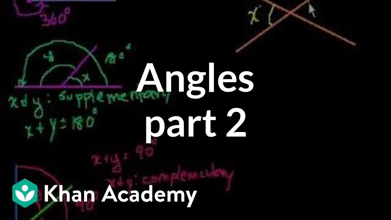 角 (第二部分 英語) | 角與角度. | 均一教育平臺