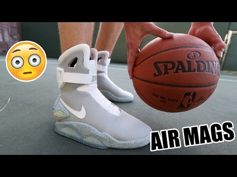 I Played Basketball In My Nike Air Mags!