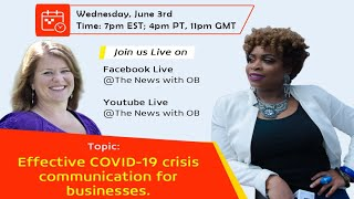 Effective COVID-19 Crisis Communication for Businesses
