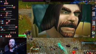 Asmongold and Mcconnell reacts to old wow cinematics and world first kills.