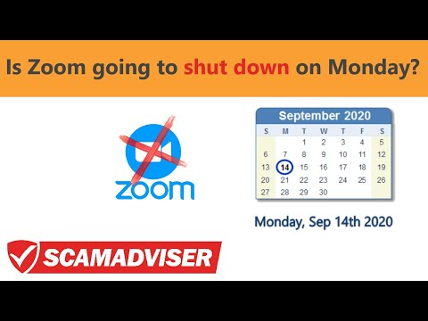 Is Zoom shutting down on September 14th? Are there gonna be any meetings on Zoom App on Monday?
