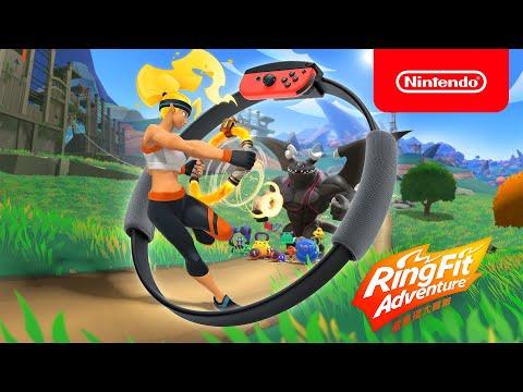 Switch《健身環大冒險》&全新控制器《Ring-Con》健身冒險遊戲套組正式發表!