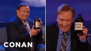 Conan Takes Truth Serum  - CONAN on TBS