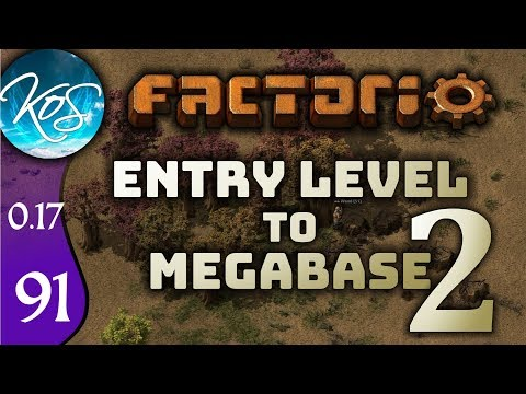 Factorio 0.17 Ep 91: MANY BELTS MUCH ORE - Entry Level to Megabase 2 - Tutorial Let's Play, Gameplay