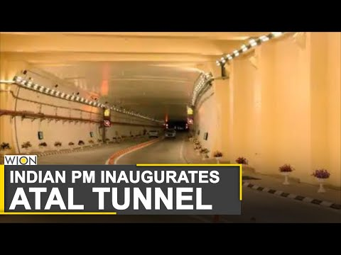 Atal Tunnel: Indian PM Modi inaugurates world's longest high-altitude tunnel