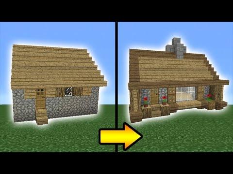 minecraft villager village transform tutorial houses blacksmith build designs farm buildings cute cool haus remodel easy building decorate bauen butcher