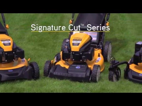Cub Cadet SC 300 HW 21 in. Cub Cadet OHV 159 cc in Sturgeon Bay, Wisconsin - Video 1