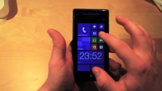 HTC Windows Phone 8X - Unboxing & Review (deutsch)