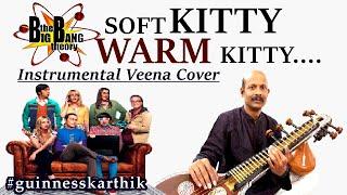 Big Bang Theory   Soft Kitty Warm Kitty (Sheldon's Lullaby Song) I #nstrumental   #Veena   Karthik