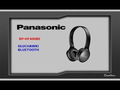 Panasonic RP-HF400 - Słuchawki bezprzewodowe za około 200 złotych