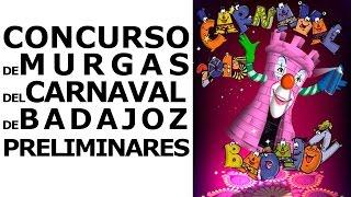 preview picture of video 'Preliminares Concurso de Murgas Carnaval de Badajoz 2015 (3er día)'