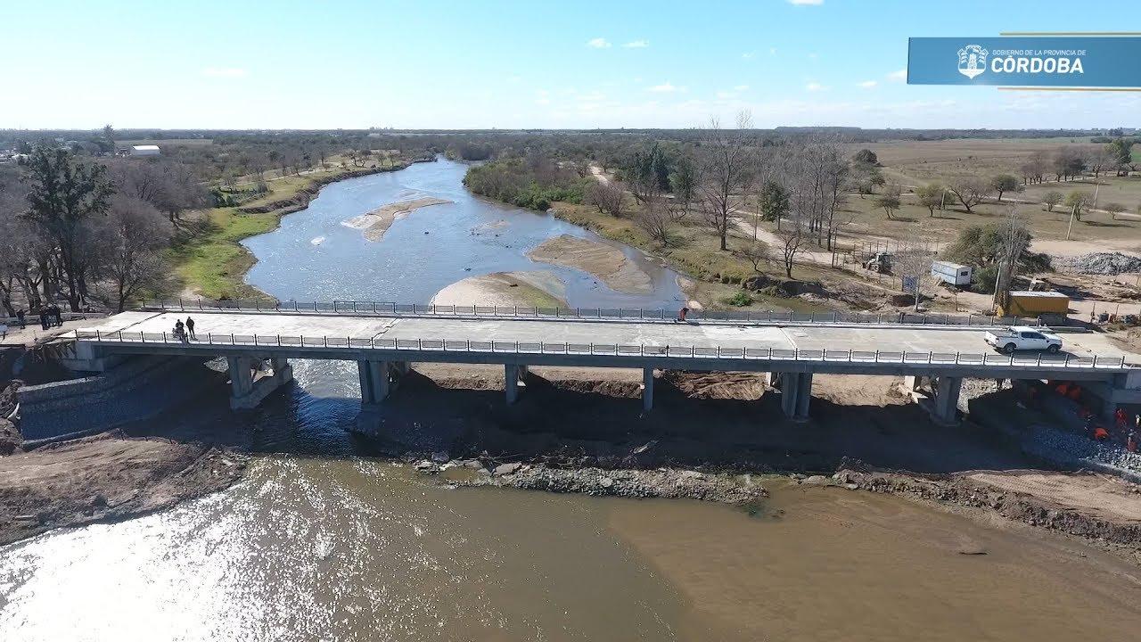 Río Primero: avanzan las obras viales en el departamento