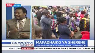 Mafadhaiko ya sheria: Shamrashamra zawatia tumbo joto baadhi krismasi imewadia