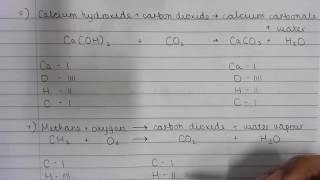 Balancing Chemical Equations 6