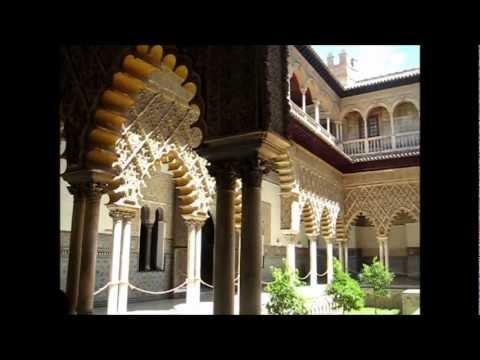 Замок Алькасар. Испания. Севилья