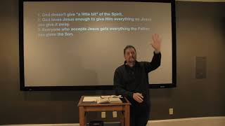 Studies in John - #22: The Holy Spirit Without Measure
