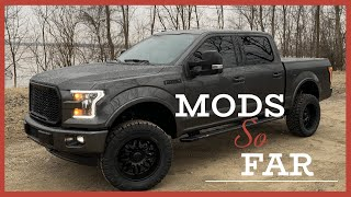 2017 Lifted Ford F150 Mods