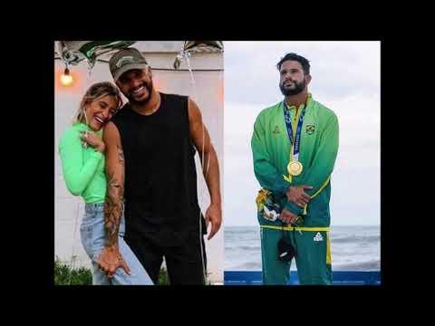 Atriz fala sobre namoro com Ítalo Ferreira, campeão de surfe nas Olimpíadas