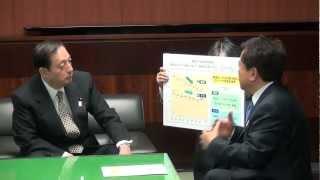 猪瀬知事と太田国土交通大臣との面会