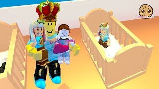 My New Family ! Adopt Me Roblox Family Game with Cookie Swirl C
