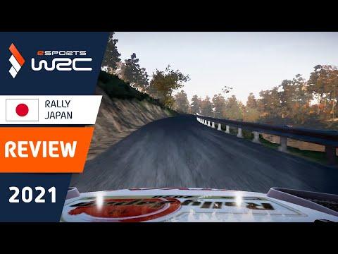 E-sports WRC2021 ジャパン ウイニングラン動画