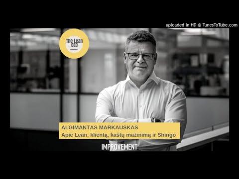 """""""The Lean CEO"""" podkastas: apie Lean, klientą ir kaštų mažinimą"""