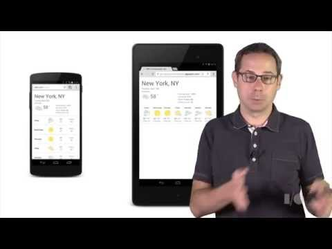 How to build a website for mobile devices like phones, phablets, tablets, desktops, game consoles, T