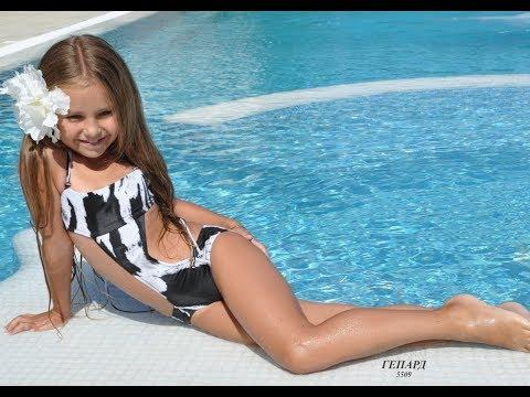 Детский купальник монокини для девочки BAEL->