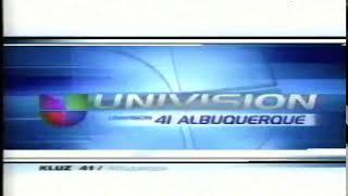 KLUZ-TV 41 Univision New Mexico Station ID 2002