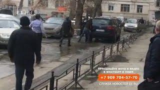 В центре Екатеринбурга расстреляли мужчину 18+