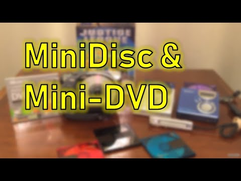 MiniDisc - Still Alive and Well - Plus Mini DVD Movies!