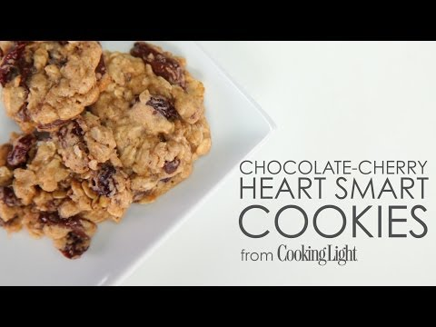 How to Make Chocolate-Cherry Heart Smart Cookies