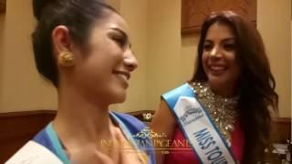 Dikna Faradiba Banjir Ucapan Selamat Ulang Tahun  dan Pujian di Miss Tourism International 2016