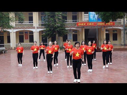 Thể Dục Giữa Giờ Của Các Cô Giáo Trường THCS Xuân Khanh - Sơn Tây