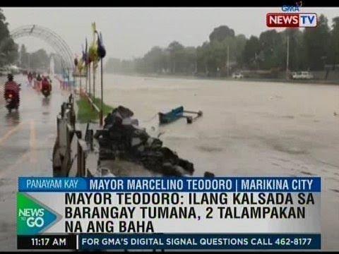 [GMA]  NTG: Panayam kay Marikina City Mayor Marcelino Teodoro