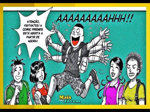 Turma da Mônica Jovem, O Mestre dos Vilões – Comic Friends Limoeiro, parte 2