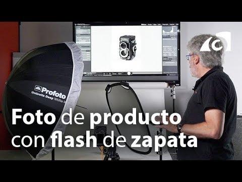 VLOG. Cómo hacer foto de producto con flash de zapata