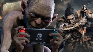 TWO New Nintendo Switches? A LOTR Gollum Game, Sekiro Impressions, & More (LIVE SHOW)