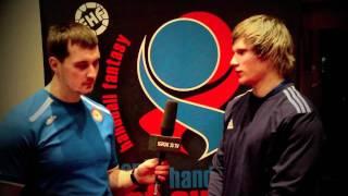 Pavel Atman Russia-Hungary 31:31 EUROHANDBALL2012