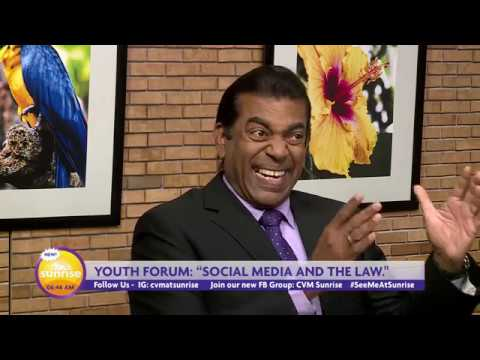 CVM At Sunrise - Social Media and the Law - March 12, 2019