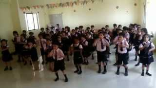 preview picture of video 'shree shantiniketan english medium school latur {practice time}'